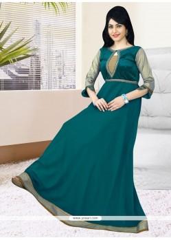 Glorious Velvet Readymade Gown