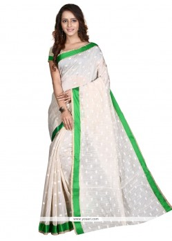 Enthralling Beige Casual Saree