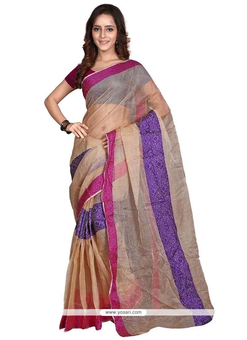 Ethnic Banarasi Silk Casual Saree