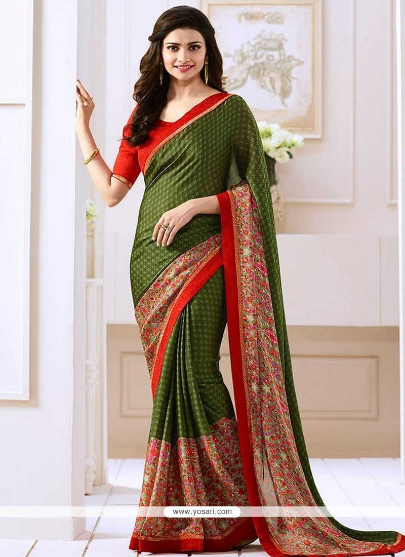 Prachi Desai Bollywood Saree For Party