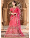 Distinctively Patch Border Work A Line Lehenga Choli