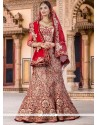 Hypnotic Embroidered Work A Line Lehenga Choli