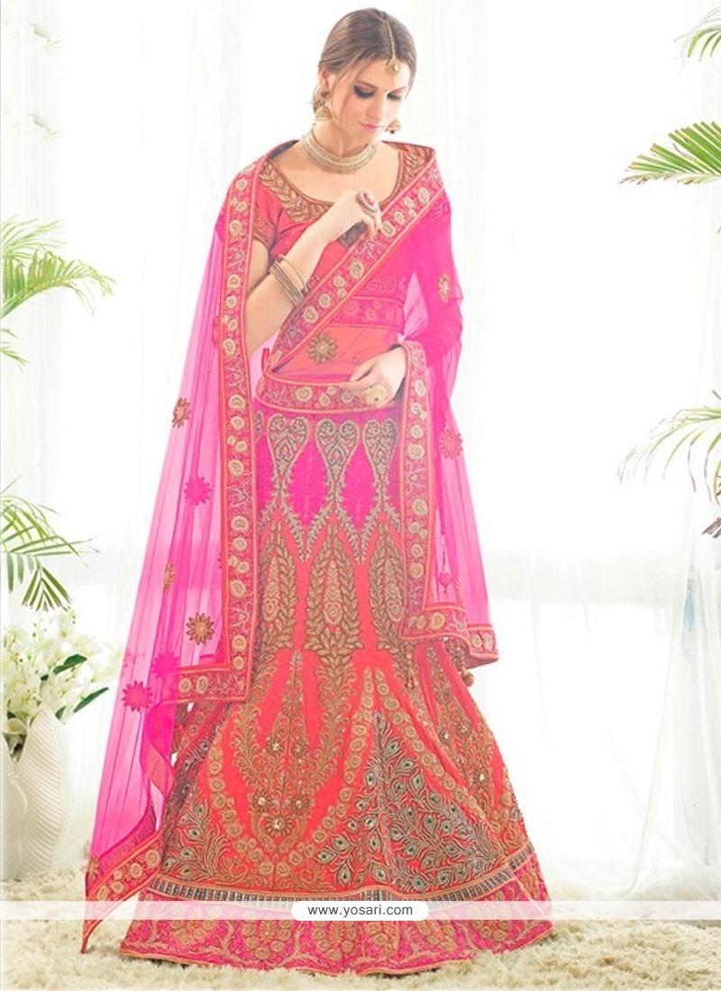 Modern A Line Lehenga Choli For Wedding