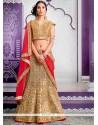 Desirable Fancy Fabric Patch Border Work A Line Lehenga Choli