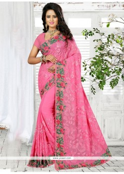 Invigorating Georgette Trendy Saree