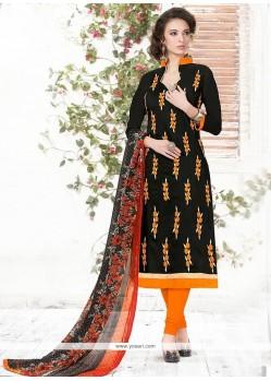 Sparkling Chanderi Churidar Suit