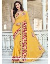 Ideal Georgette Classic Saree