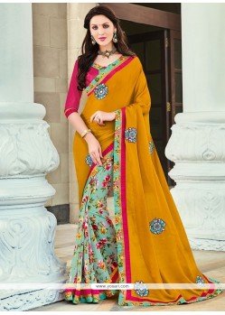 Aristocratic Printed Saree For Casual
