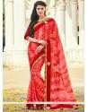 Classy Print Work Printed Saree