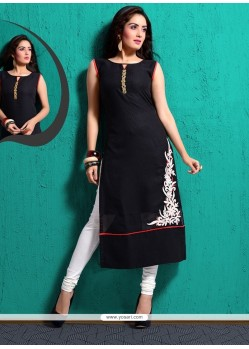 Gilded Cotton Silk Party Wear Kurti