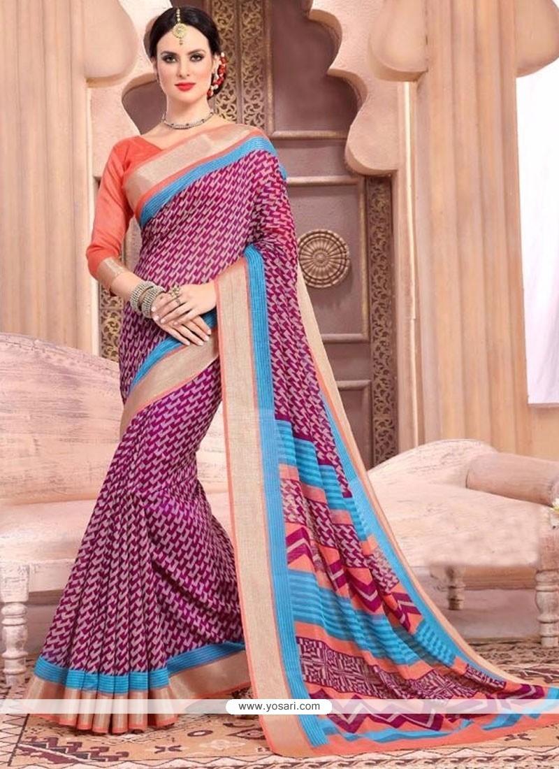 Genius Silk Casual Saree