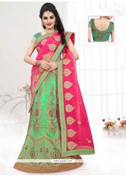 Fantastic Art Silk A Line Lehenga Choli