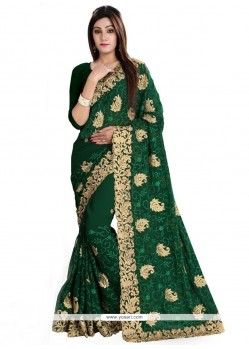 Regal Patch Border Work Designer Traditional Sarees