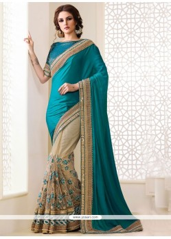 Engrossing Embroidered Work Designer Traditional Sarees
