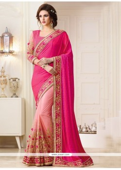 Majestic Net Patch Border Work Designer Traditional Sarees