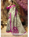 Sightly Multi Colour Printed Saree