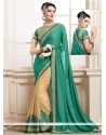 Magnetize Georgette Patch Border Work Classic Saree