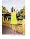 Parrot Green Color Kurti