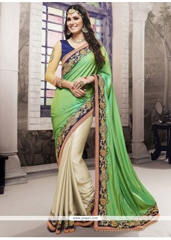 Astonishing Embroidered Work Classic Saree