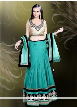 Lavish Fancy Fabric Designer A Line Lehenga Choli