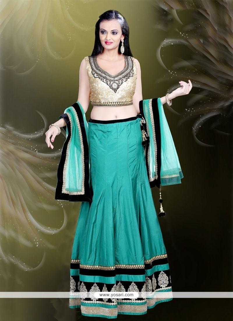 54b6441b41 Buy Lavish Fancy Fabric Designer A Line Lehenga Choli | Bridal ...