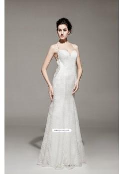 Luscious Off White Dresses