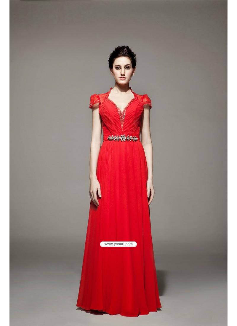 Divine Red Dresses