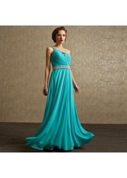 Enigmatic Cyan Blue Dresses