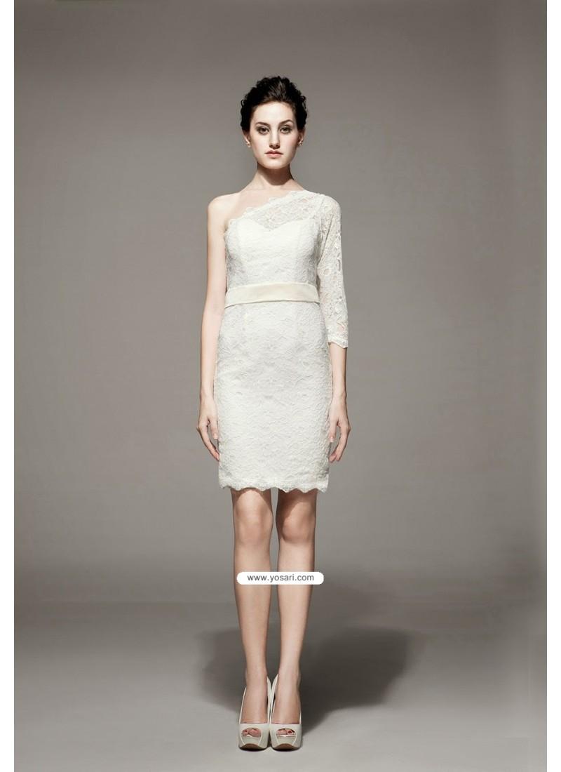 Splendorous Ivory Dresses