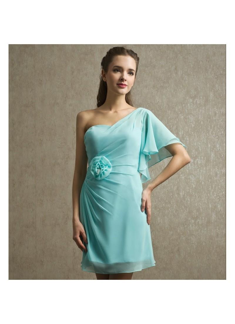 Sparkling Pale Cyan Blue Dresses