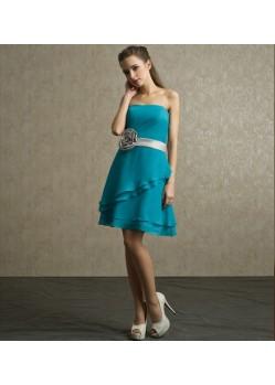 Melodic Deep Cadet Blue Dresses