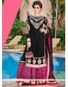 Fabulose Black Net Lehenga Choli