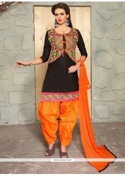 Majesty Cotton Punjabi Suit