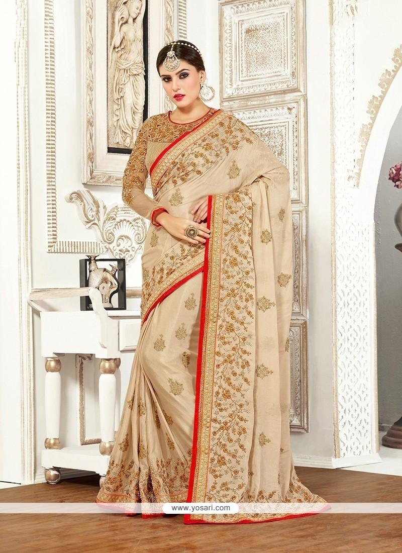 Thrilling Bembarg Classic Designer Saree