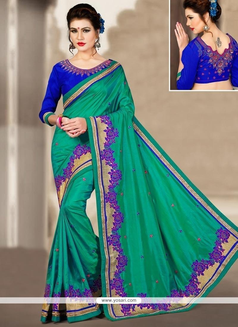 Distinctive Art Silk Traditional Saree