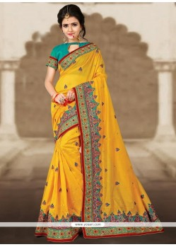 Majesty Zari Work Chanderi Classic Designer Saree