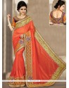 Modish Art Silk Zari Work Designer Traditional Saree