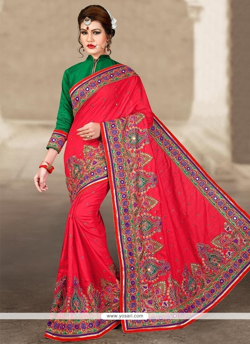 Savory Manipuri Silk Zari Work Traditional Designer Saree