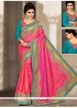 Exceptional Zari Work Designer Traditional Saree