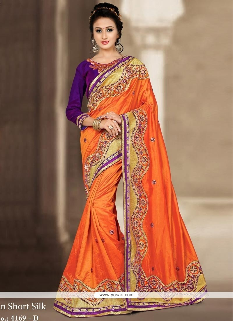 Majesty Traditional Designer Saree For Wedding