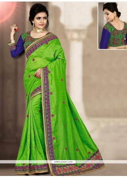 Lively Art Silk Resham Work Traditional Designer Saree