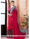 Sensible Print Work Multi Colour Printed Saree