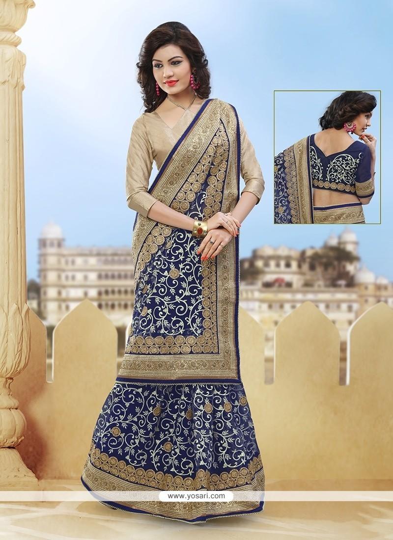 Elite Zari Work Classic Designer Saree