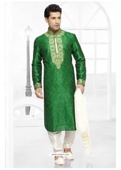 Impressive Green Kurta Pajama