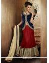 Charming Red Net Lehenga Choli