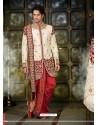 Shining Gold Wedding Sherwani