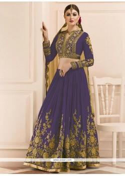 Honourable Art Silk Violet Lehenga Choli