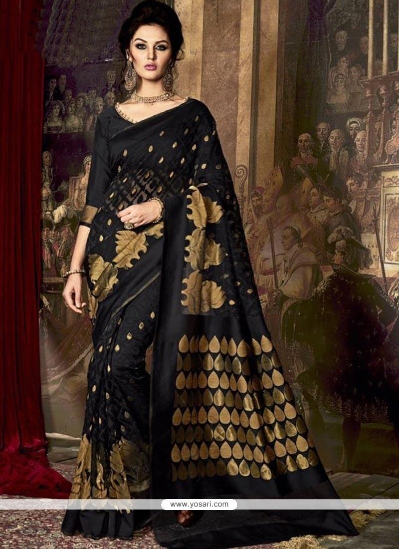 Captivating Art Silk Weaving Work Traditional Saree