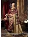 Sumptuous Art Silk Weaving Work Traditional Saree