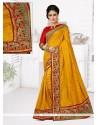 Customary Manipuri Silk Resham Work Designer Traditional Saree